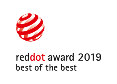 Red Dot award best of the best 2019 logo
