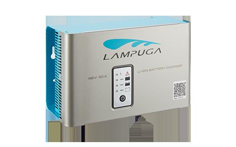 Mountable Lampuga charger
