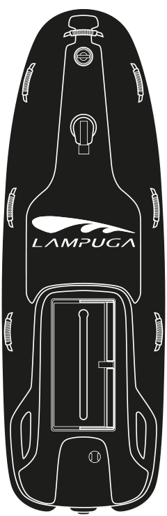 Lampuga Rescue top view drawing